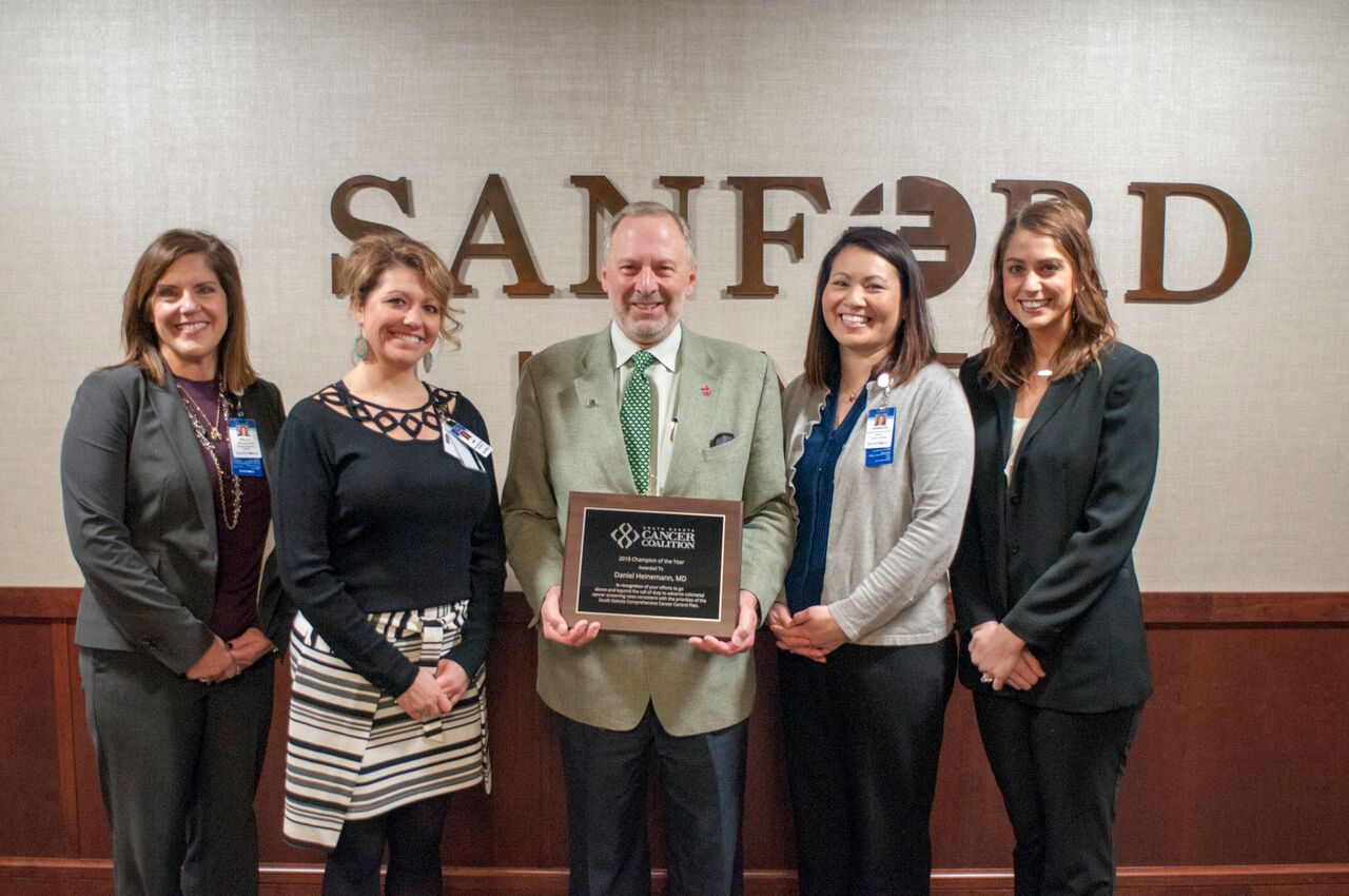 SD Cancer Coalition Recognizes Efforts to Increase Colorectal Cancer Screening